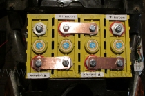 Příprava akumulátoru LiFePO4 do 4 x 12V kusů pro jednodužší uchycení.