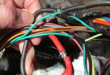 Elektroinstalace v elektroskútru