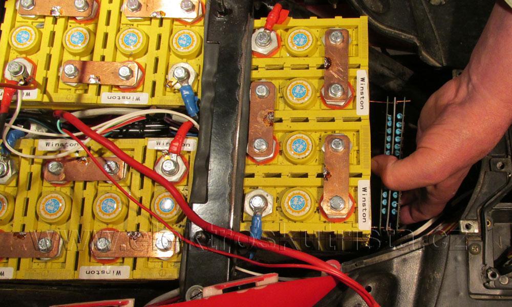 Elektroskútr - Cell Balancing Module (3.60V- 1.7A) - instalace a zapojení