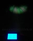 ElektrosHodně fotograficky zkreslující ukázka svícení přední ledkou 12W v elektroskútru.kútr - výměna žárovek za ledky