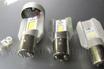 Elektroskútr - výměna žárovek za ledky