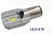 Elektroskútr - výměna žárovek za ledky - přední led světlo - 8 W