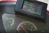 Rekuperace - nulový odběr z akumulátoru - Elektroskútr  IO1500GT nová řídící jednotka.