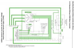 Kelly Motor Controller- schema aktuálního zapojení - Elektroskútr  IO1500GT nová řídící jednotka.
