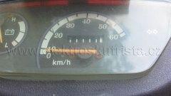 Stav tachometru 11111,1 km - Elektroskútr IO1500GT.