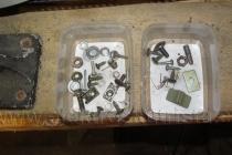 Zbylé šrouby a samořezy - elektroskútr IO1500GT.