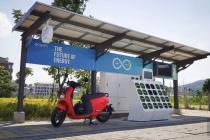 Gogoro -  dobíjecí solární stanice - Gostation