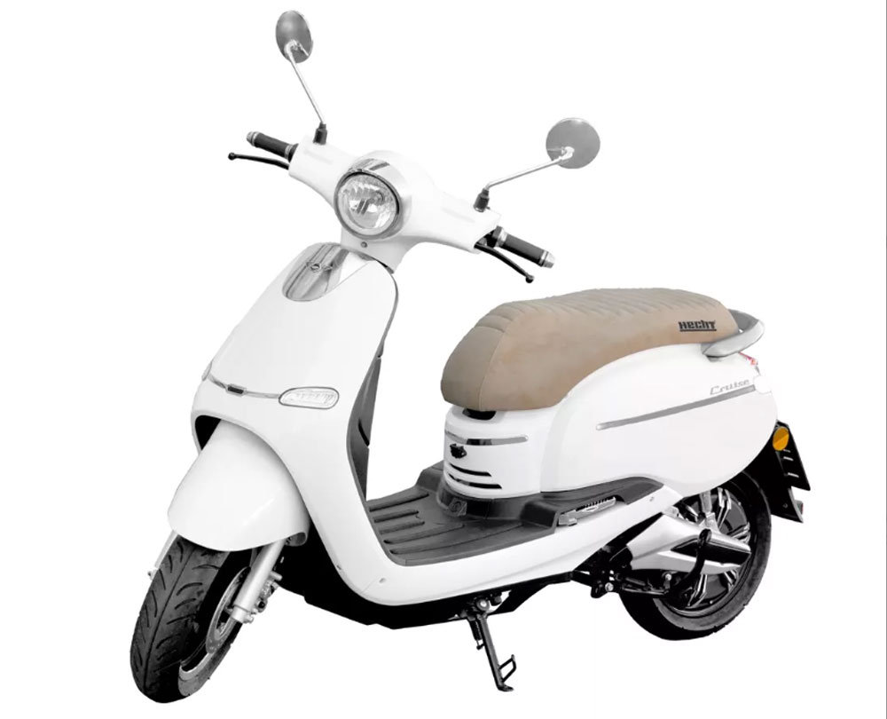 Elektroskútr HECHT CITIS WHITE Electric scooter