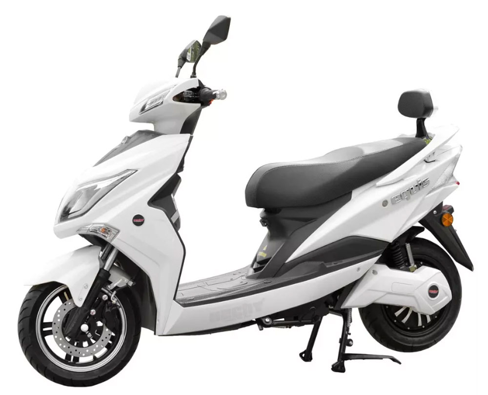 Elektroskútr HECHT EQUIS WHITE Electric scooter