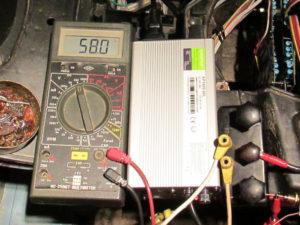 Elektroskútrista, elektroskútr, nabíječka 3A 58V LiFePO4