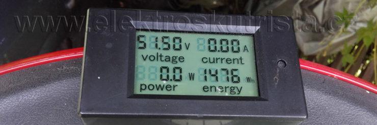 Spotřeba elektroskútru Electric scooter IO 1500 GT - nahled