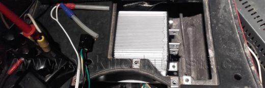 Elektroskútr IO1500GT nová řídící jednotka