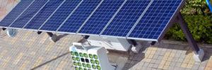 Gogoro - první dobíjecí solární stanice.
