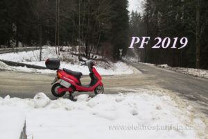 Elektroskútr PF 2019